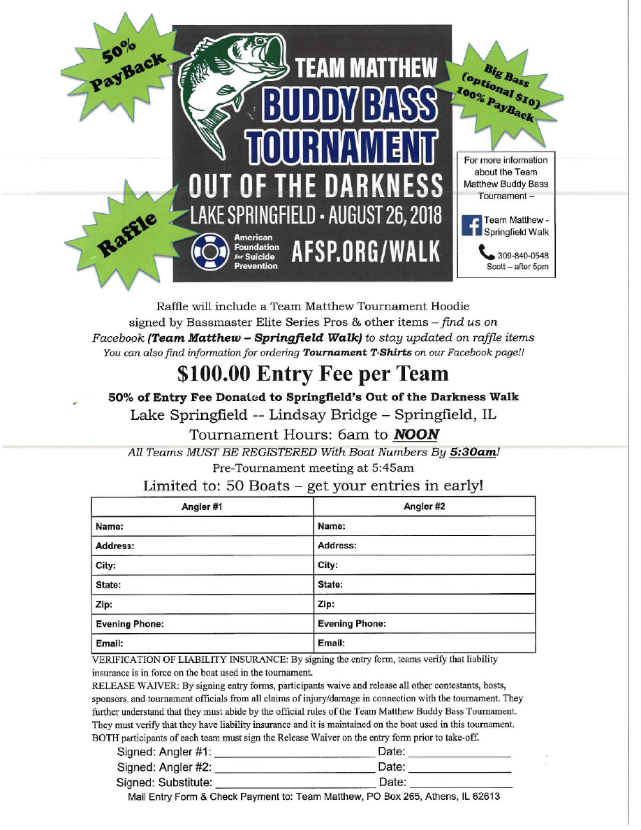 Team Matthew Tournament