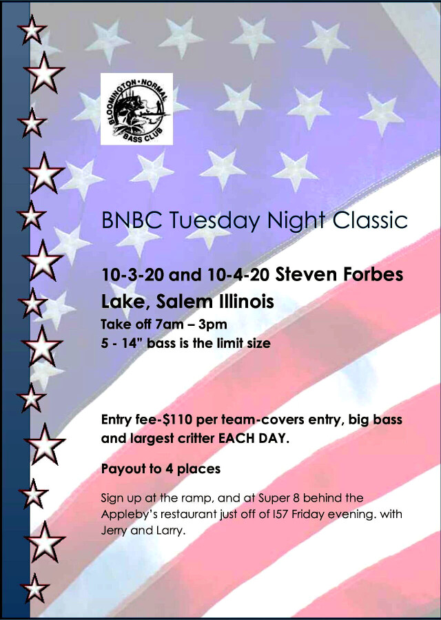 2020 Tuesday Night Classic Flyer